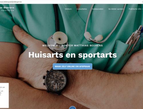 Nieuwe website voor dokterspraktijkiddergem.be