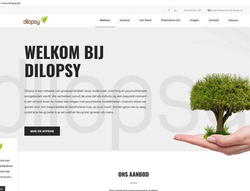 Nieuwe website voor dilopsy.be